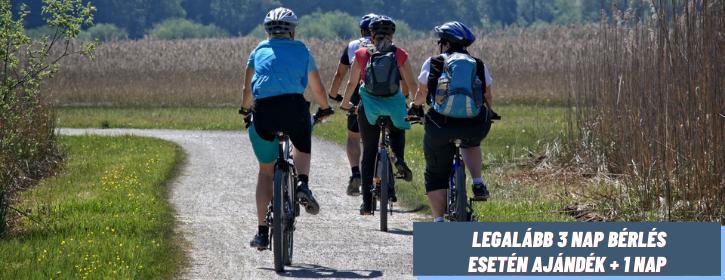 Biciklikk kerékpárbérlés kupon akció