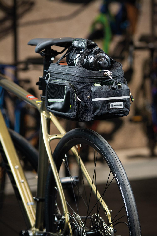 Bikefun Expansion QR kerékpáros táska nyeregcsőre
