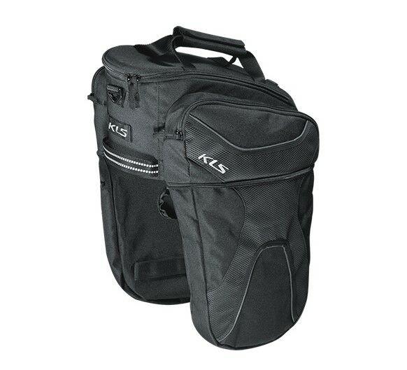KLS Space 15 szétnyitható csomagtartó táska kerékpárra