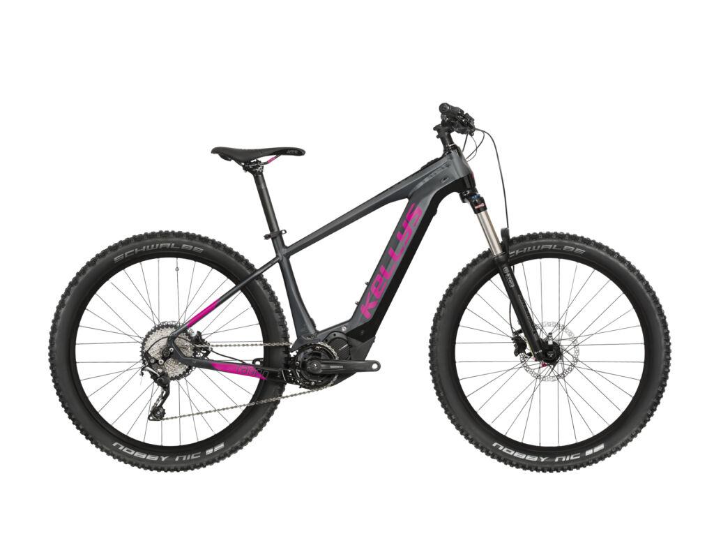 """KELLYS Tayen 50 504Wh 29"""" női MTB elektromos kerékpár, szürke / pink"""