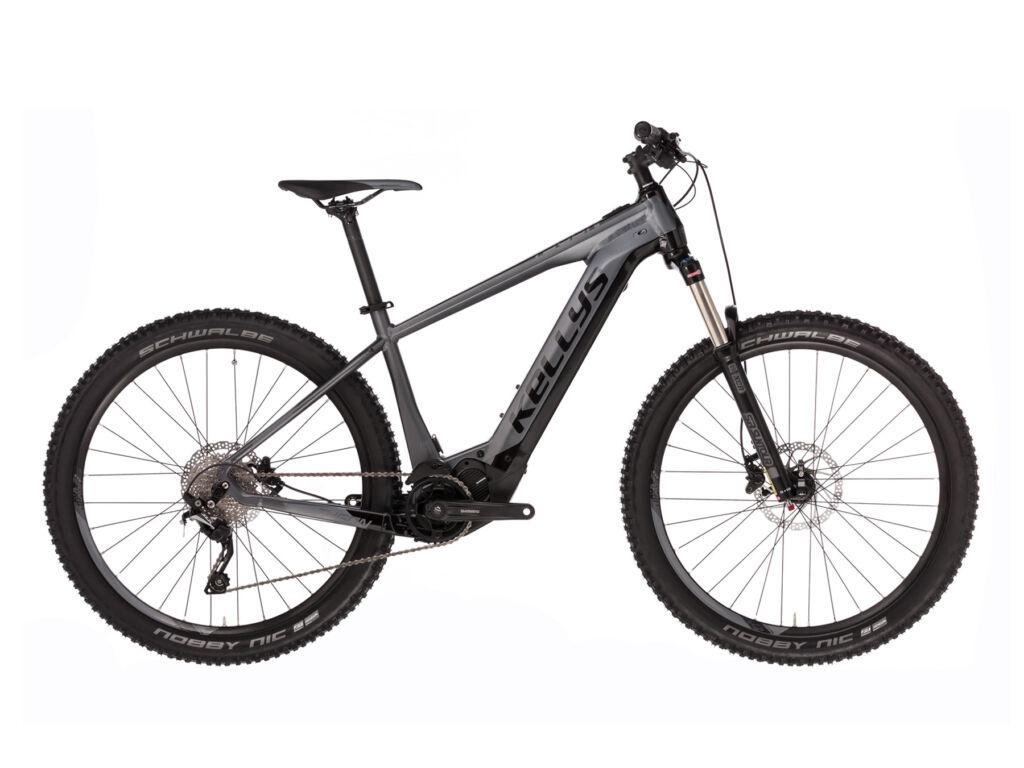 """KELLYS Tygon 50 504Wh 27.5"""" férfi MTB elektromos kerékpár, grafitszürke"""