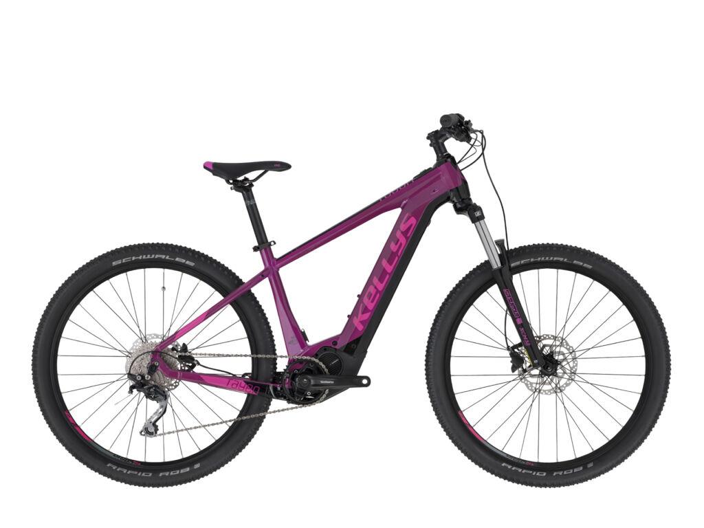 """KELLYS Tayen 20 27.5"""" női MTB elektromos kerékpár, magenta / pink"""