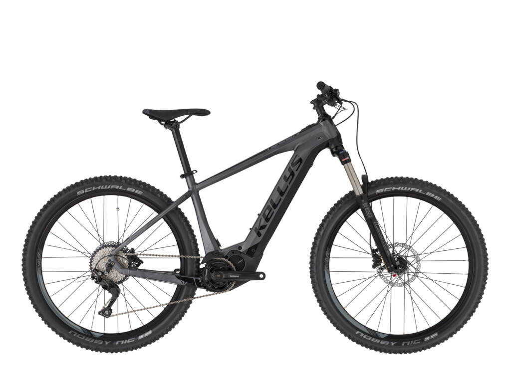 """KELLYS Tygon 50 630Wh 27.5"""" férfi MTB elektromos kerékpár, grafitszürke"""