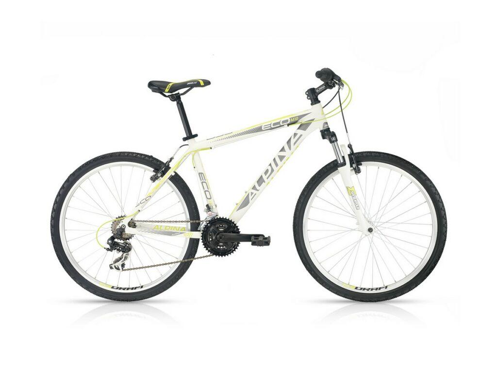 ALPINA ECO M10 26'' MTB kerékpár, white-lime