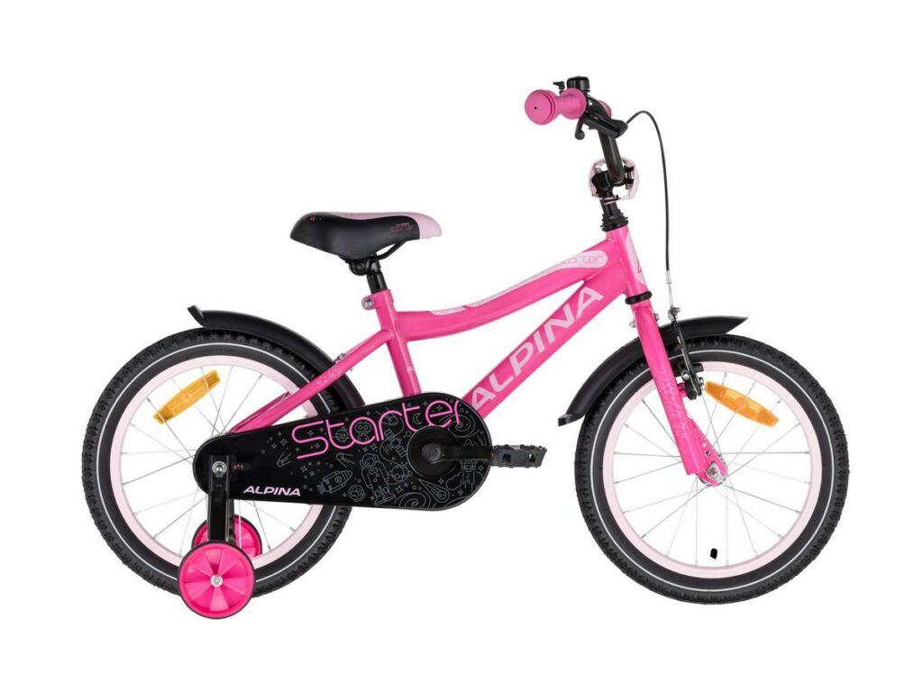 ALPINA Starter 16'' gyermekkerékpár, Pink