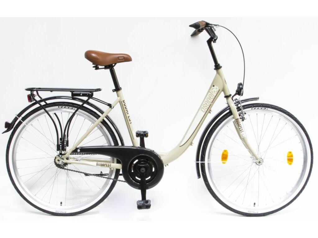 CSEPEL Budapest B 26/18 col GR 2019 1 seb. kontrás városi kerékpár - drapp