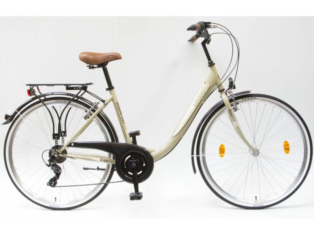 CSEPEL Budapest B 28/19 col 7SP 2019 városi kerékpár - drapp
