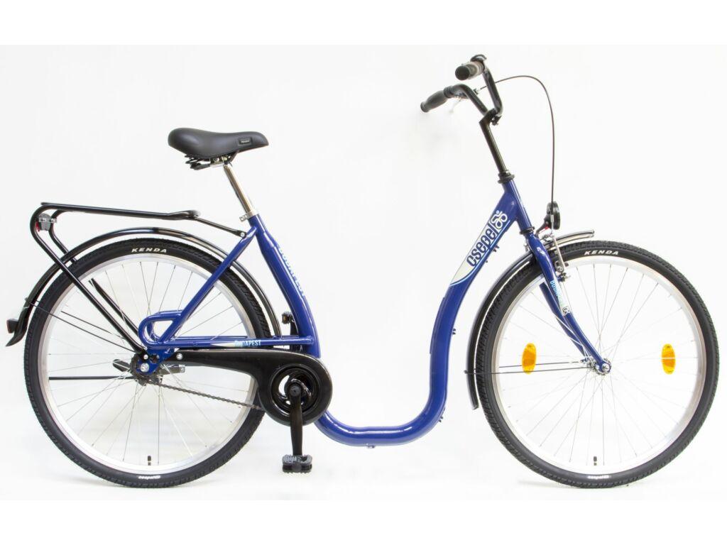 CSEPEL Budapest C 26/18 col GR 2020 1 seb. kontrás városi kerékpár - kék