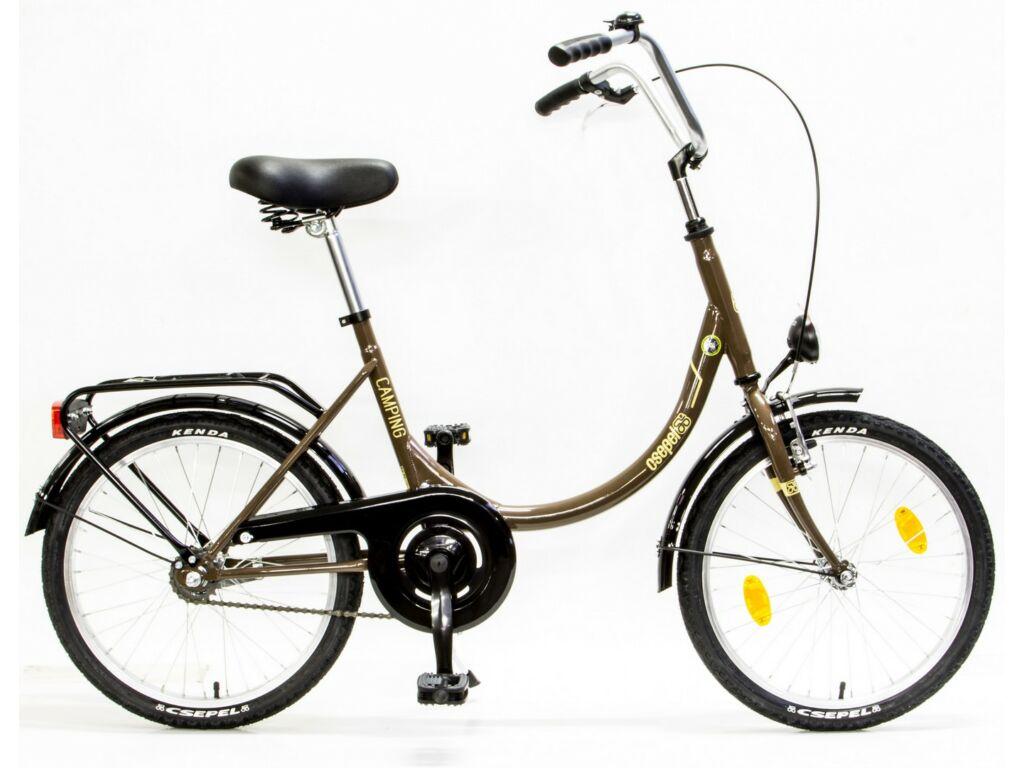 CSEPEL CAMPING 20/15 MV GR 17 városi kerékpár, barna/bézs