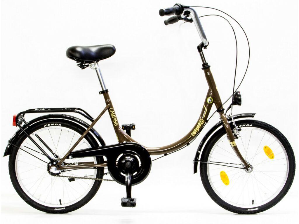 CSEPEL CAMPING 20/15 MV N3 17 városi kerékpár, barna/bézs