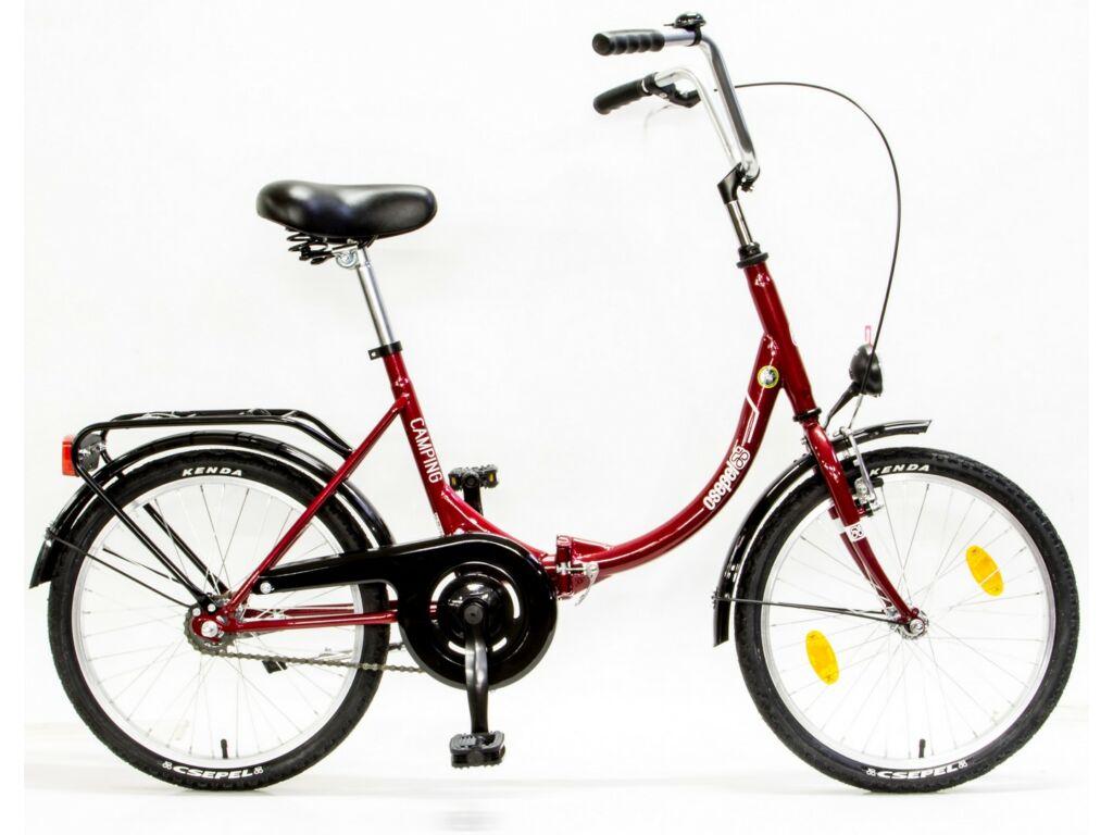 CSEPEL CAMPING 20/15 ÖCS GR 17 városi / folding (összecsukható) kerékpár, piros/fehér