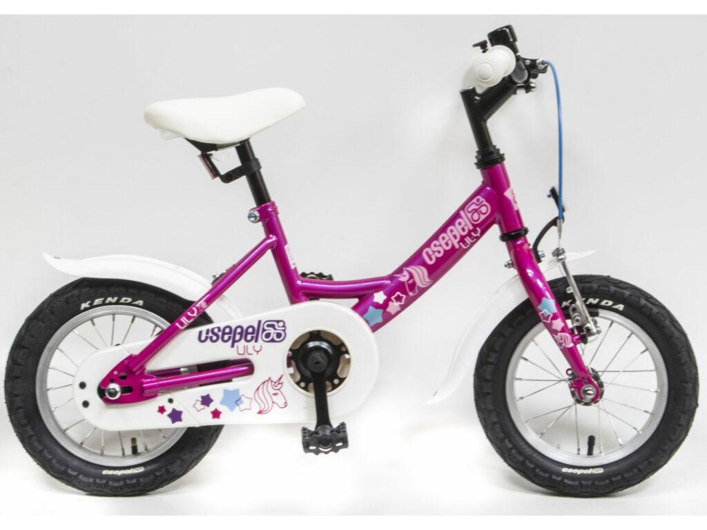 CSEPEL Lily 12 col GR 20 gyerek kerékpár - ciklámen / unikornisos