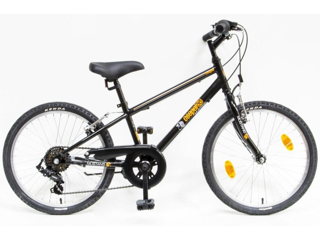 CSEPEL Mustang 20 col 6SP 20 gyerek kerékpár - fekete