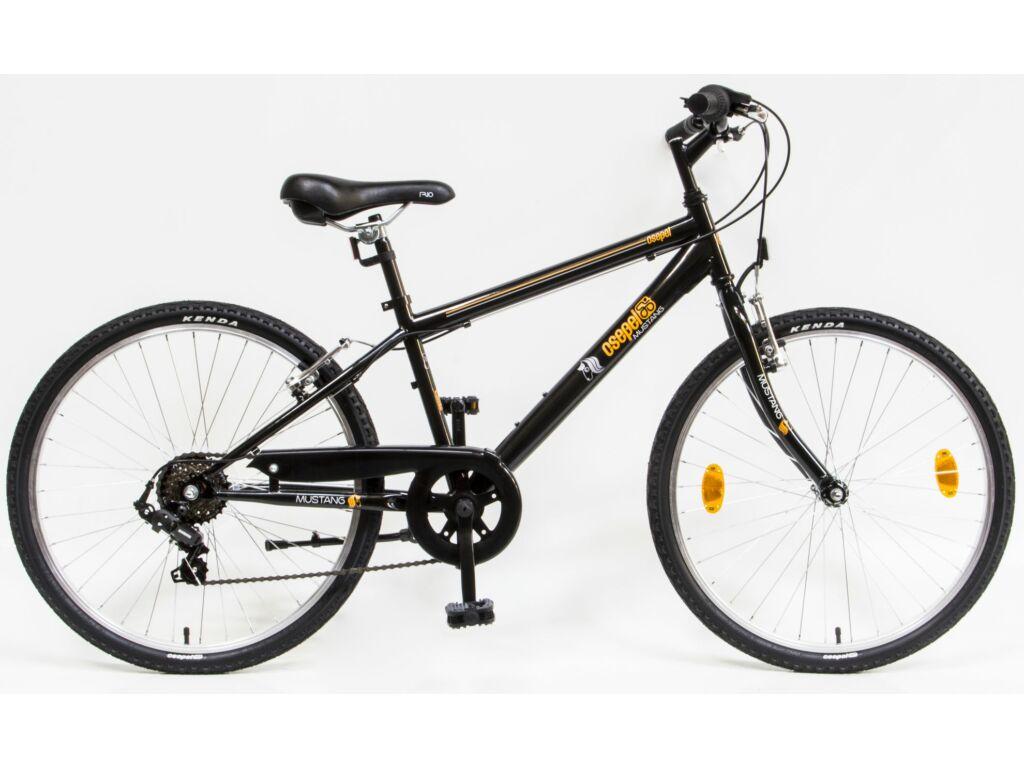 CSEPEL Mustang 24 col 6SP 20 gyerek kerékpár - fekete