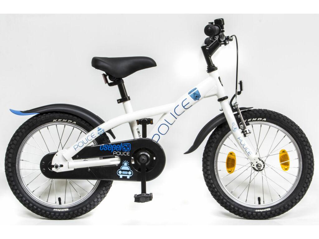 CSEPEL Police 16 col GR 20 gyerek kerékpár - fehér