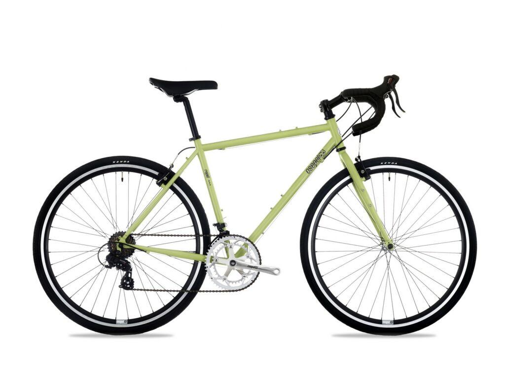 CSEPEL RAPID 3* 28/510 17 országúti / fixie kerékpár, matt zöld