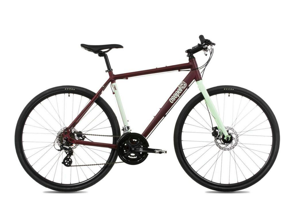 CSEPEL RAPID ALU 1.1 28/510 2019 MTB kerékpár, matt bordó/menta