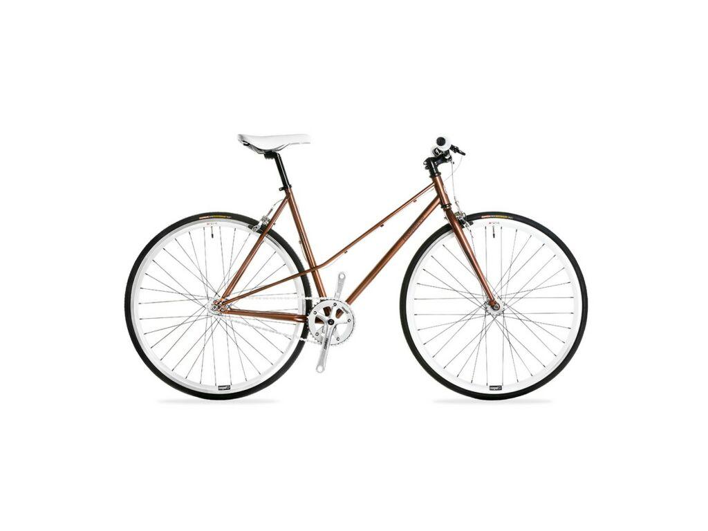 CSEPEL ROYAL 3* LADY 28/510 15 női országúti / fixie kerékpár, barna