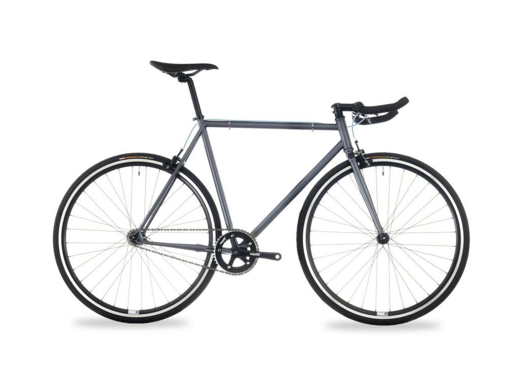 CSEPEL Royal 4* 28/520 17 single speed országúti kerékpár - matt szürke