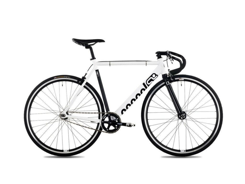 CSEPEL Royal Alu 28/520 19 single speed országúti kerékpár - matt fehér