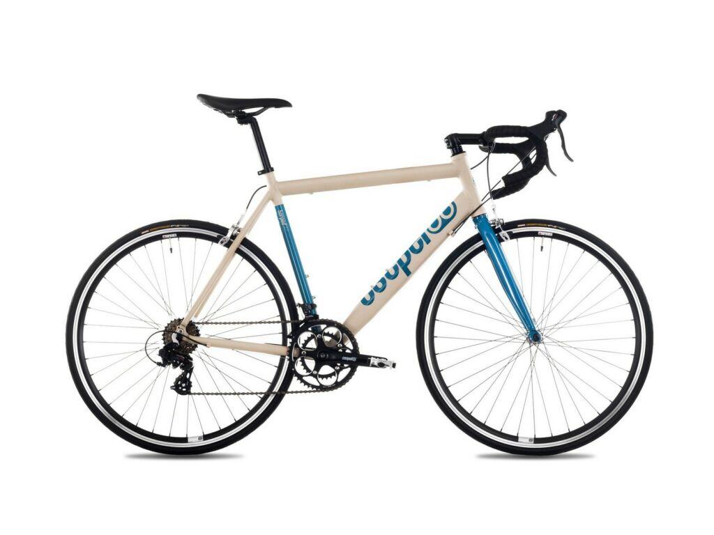 CSEPEL TORPEDAL 28/490 19 országúti kerékpár, matt homok/türkiz