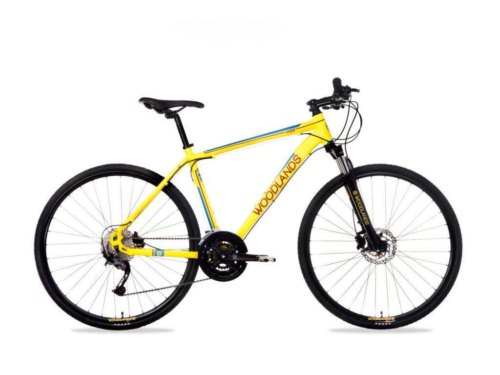 "CSEPEL WOODLANDS CROSS 700C 1.1 28/19"" FFI 21SP M férfi túra / cross kerékpár, sárga"