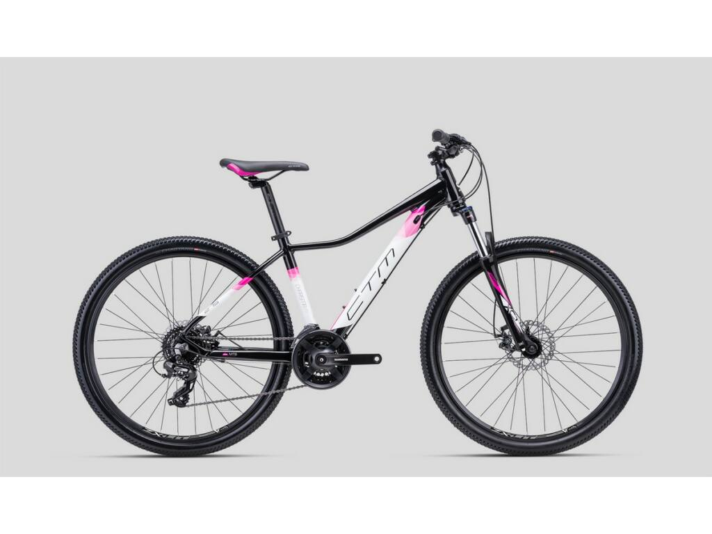 """CTM Charisma 2.0 27.5"""" női MTB kerékpár, fekete / pink"""