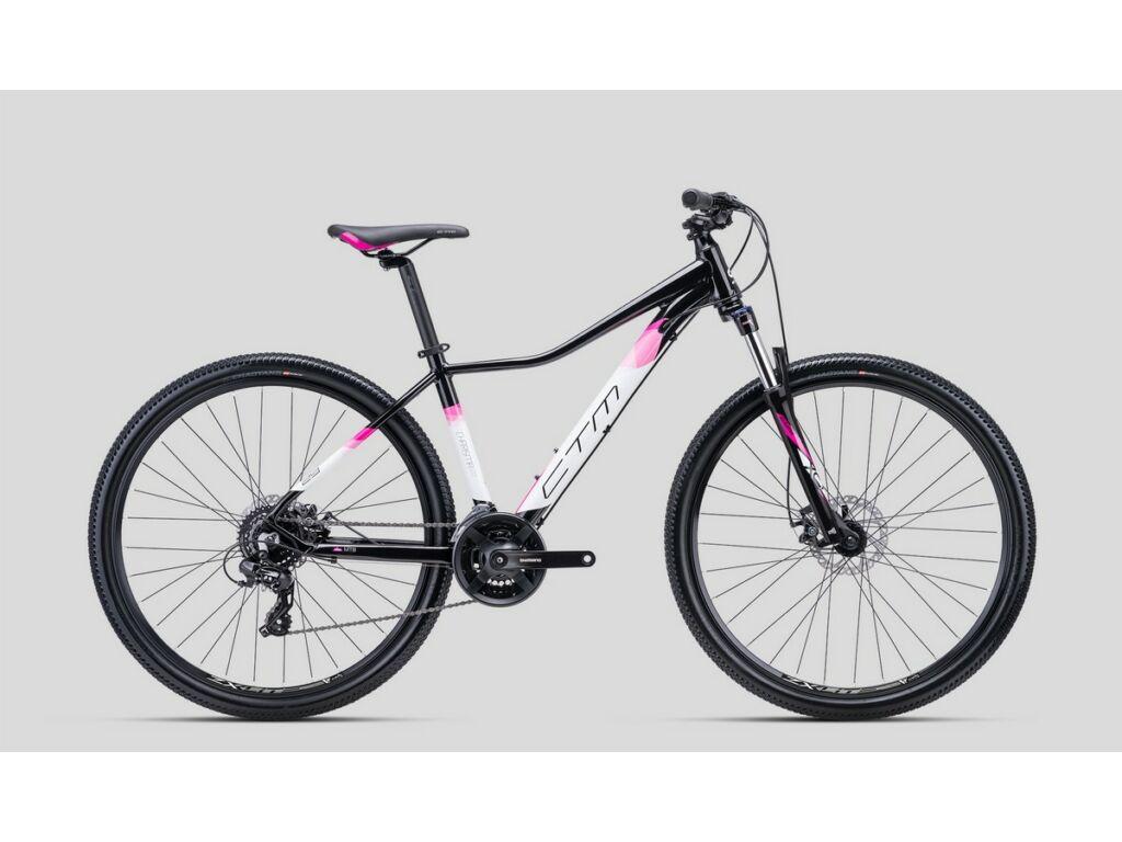"""CTM Charisma 2.0 29"""" női MTB kerékpár, fekete / pink"""