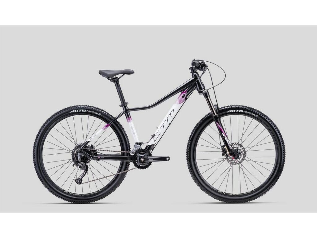 """CTM Charisma 5.0 27.5"""" női MTB kerékpár, fekete / lila"""