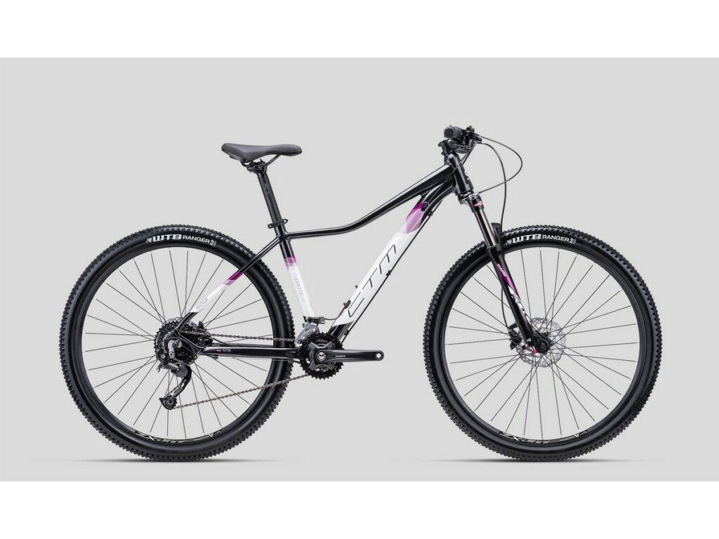 """CTM Charisma 5.0 29"""" női MTB kerékpár, fekete / lila"""
