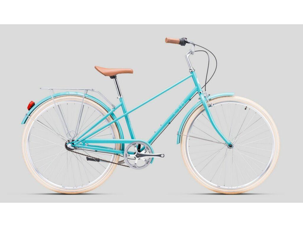 """CTM Cité 28"""" női városi kerékpár, pasztell kék"""