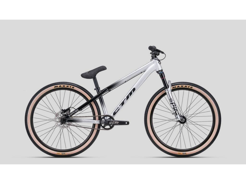 CTM Dirt King Pro dirt kerékpár, fekete / ezüst