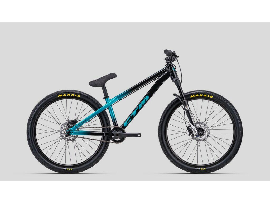 CTM Dirt King Xpert dirt kerékpár, fekete / türkíz