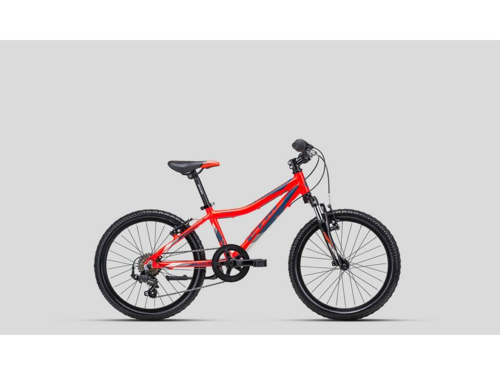 """CTM Jerry 2.0 20"""" fiú gyermekkerékpár, matt narancs / sötétkék"""
