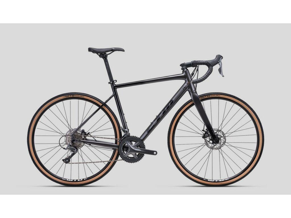 CTM Koyuk 1.0 gravel kerékpár, titán / fekete