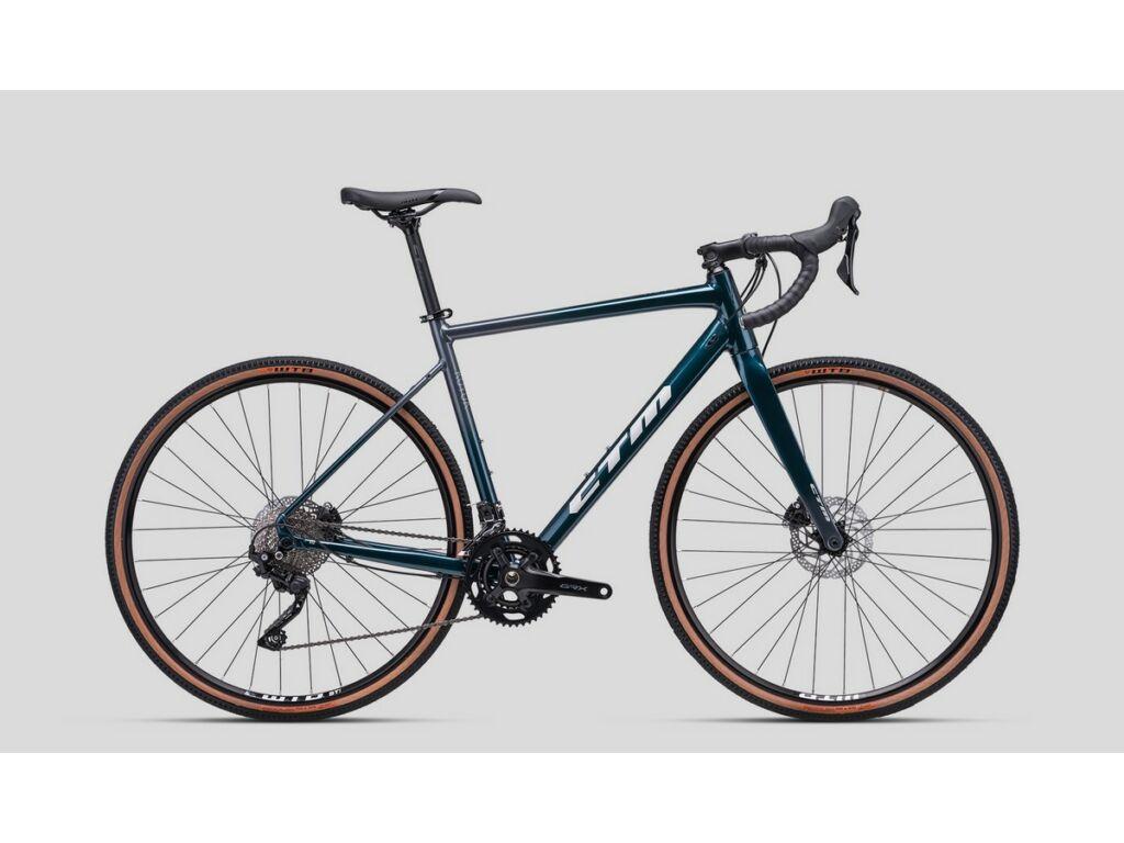 CTM Koyuk 2.0 gravel kerékpár, gyöngyház sötétzöld / antracit