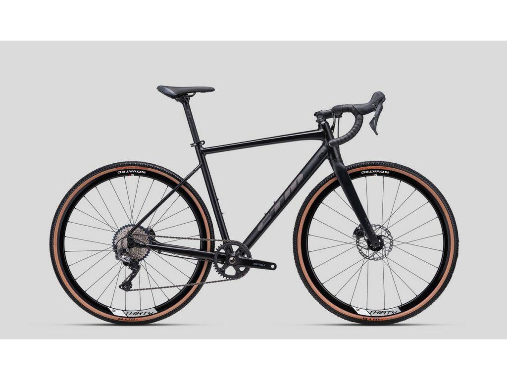 CTM Koyuk 3.0 gravel kerékpár, matt fekete / titán