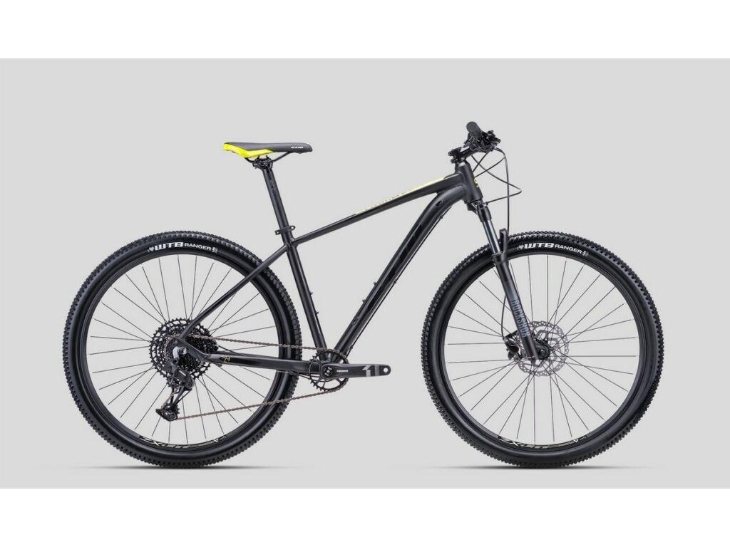 """CTM Rambler 4.0 29"""" MTB kerékpár, matt fekete / sárga"""