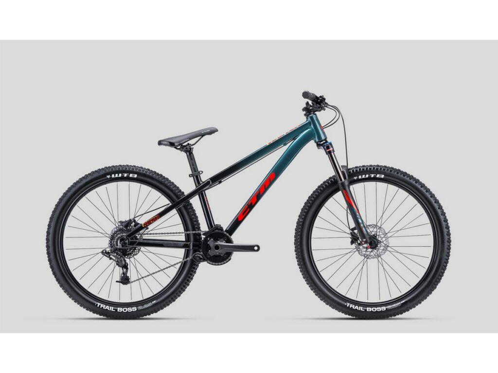 CTM Raptor 2.0 dirt kerékpár, gyöngyház fekete / kék