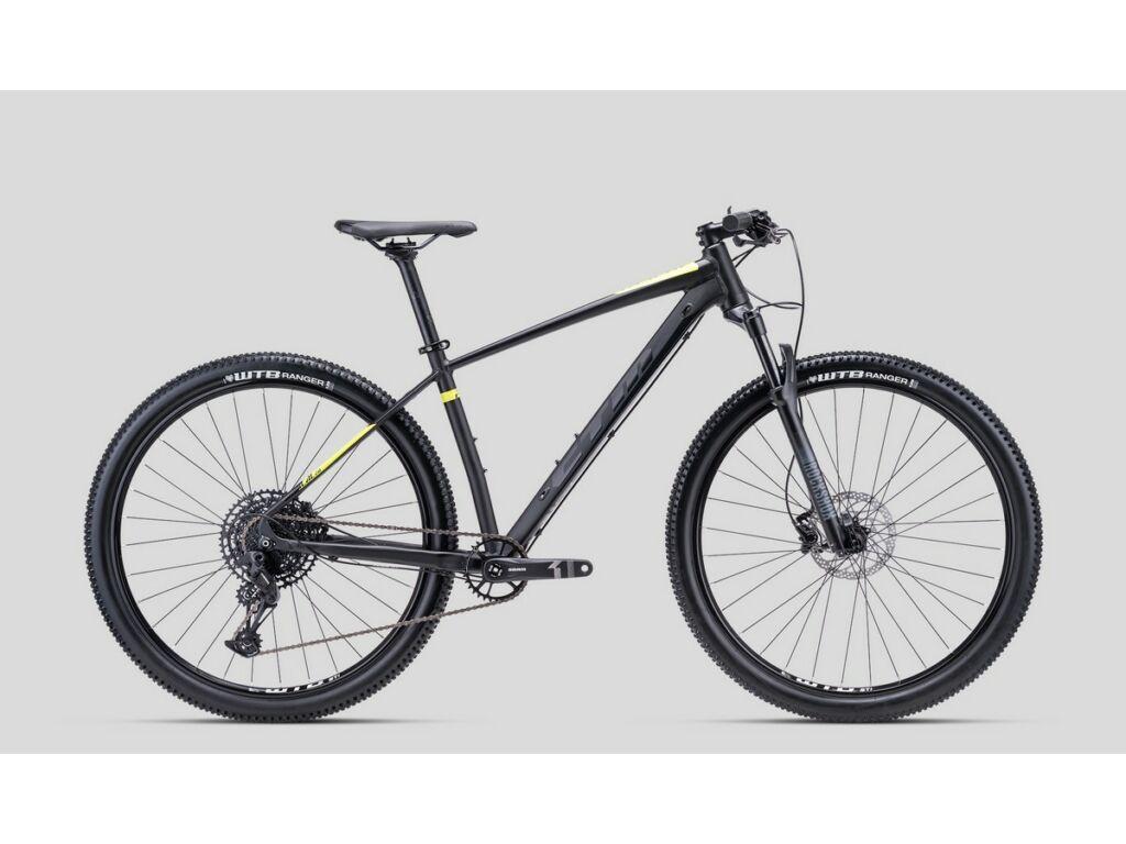"""CTM Rascal 2.0 29"""" MTB kerékpár, matt fekete / sárga"""