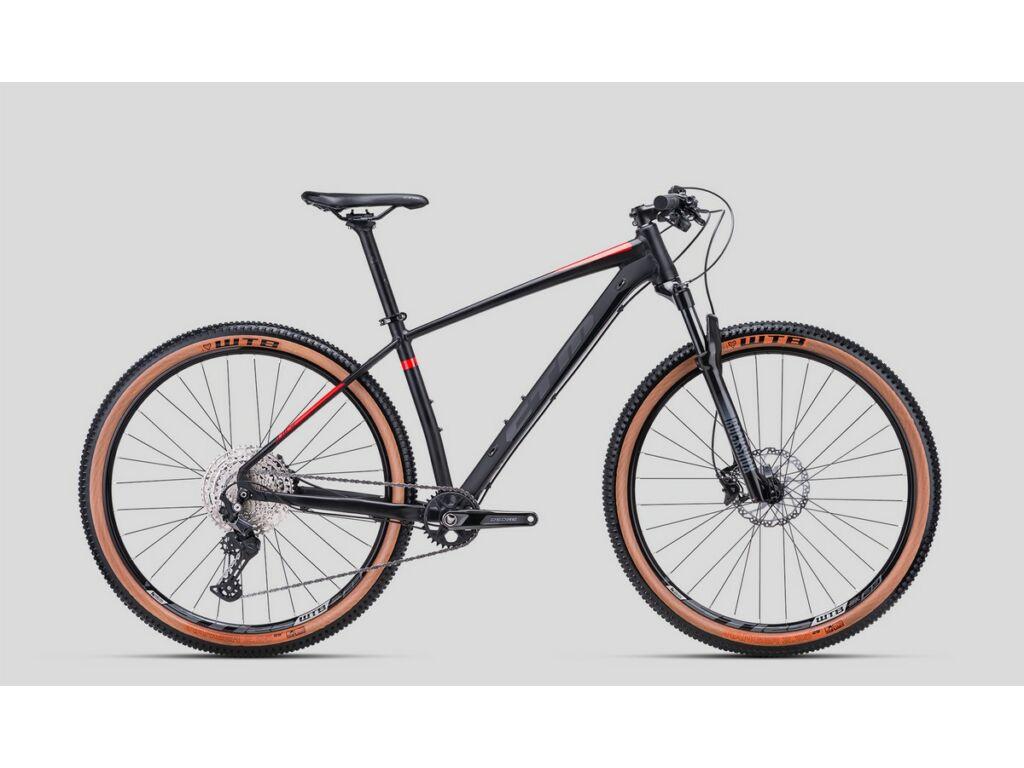"""CTM Rascal 3.0 29"""" MTB kerékpár, matt fekete / piros"""