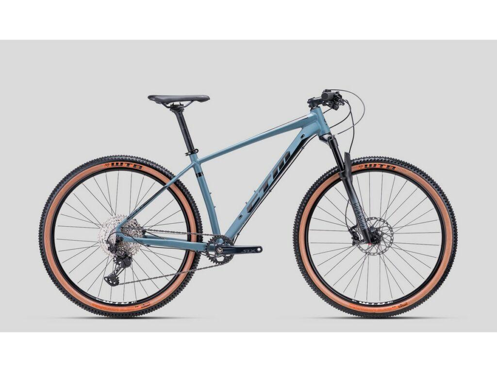 """CTM Rascal 4.0 29"""" MTB kerékpár, matt kékesszürke / fényes fekete"""