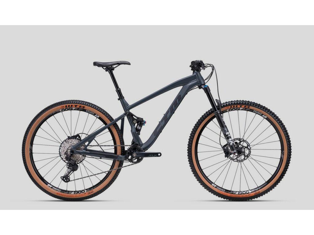 """CTM Ridge Pro 29"""" MTB trail fully kerékpár, matt antracit / fekete"""
