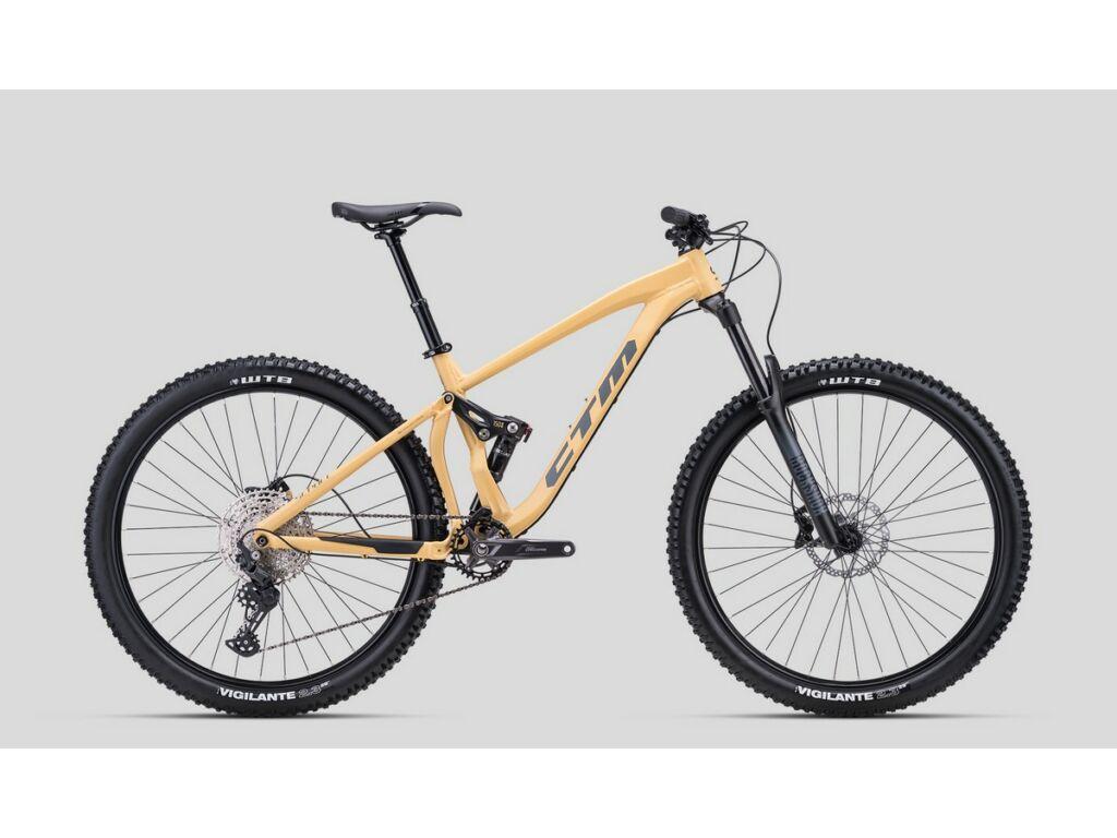 """CTM Scroll 29"""" MTB enduro fully kerékpár, matt homokszín"""