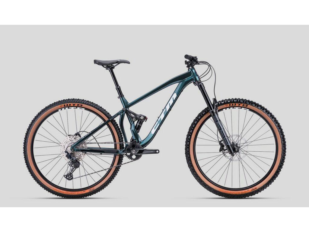 """CTM Scroll Expert 29"""" MTB enduro fully kerékpár, galaxy zöld"""