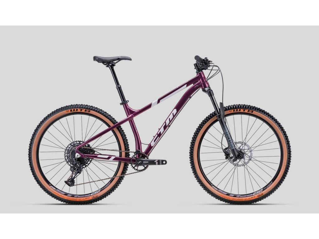 """CTM Zephyr Pro 27.5"""" MTB hardtail kerékpár, lila / ezüst"""