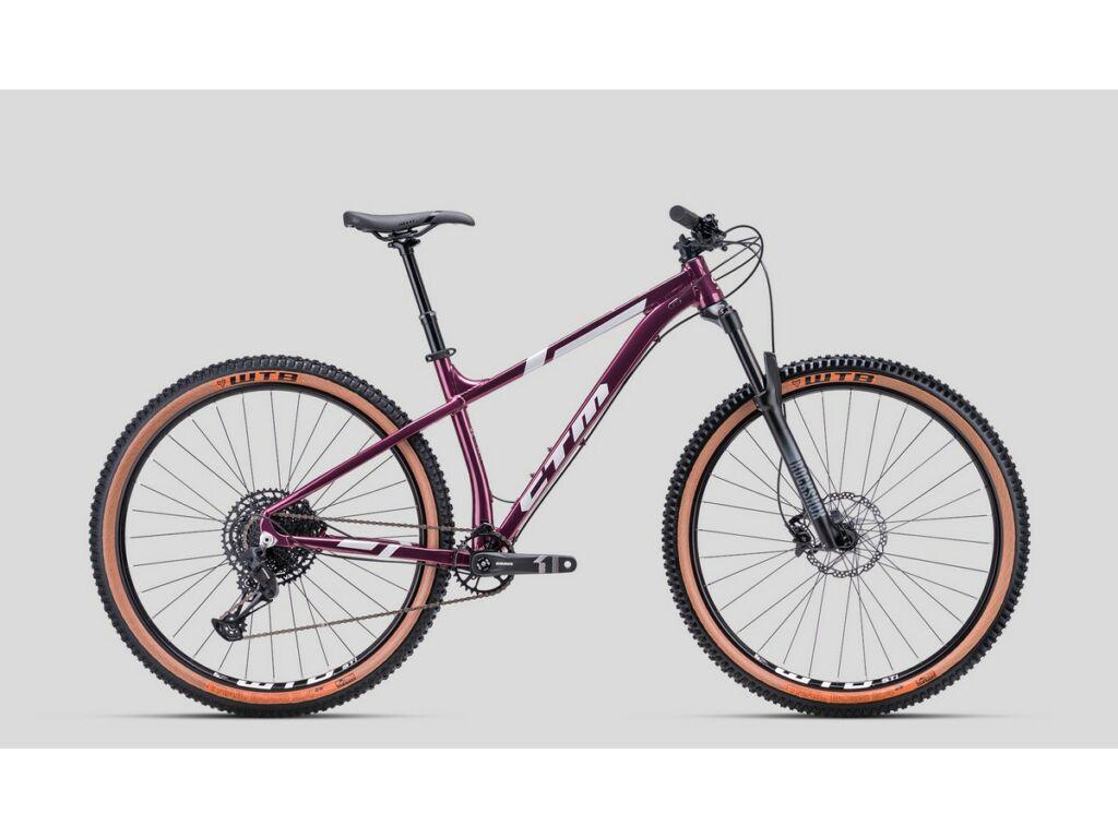"""CTM Zephyr Pro 29"""" MTB hardtail kerékpár, lila / ezüst"""