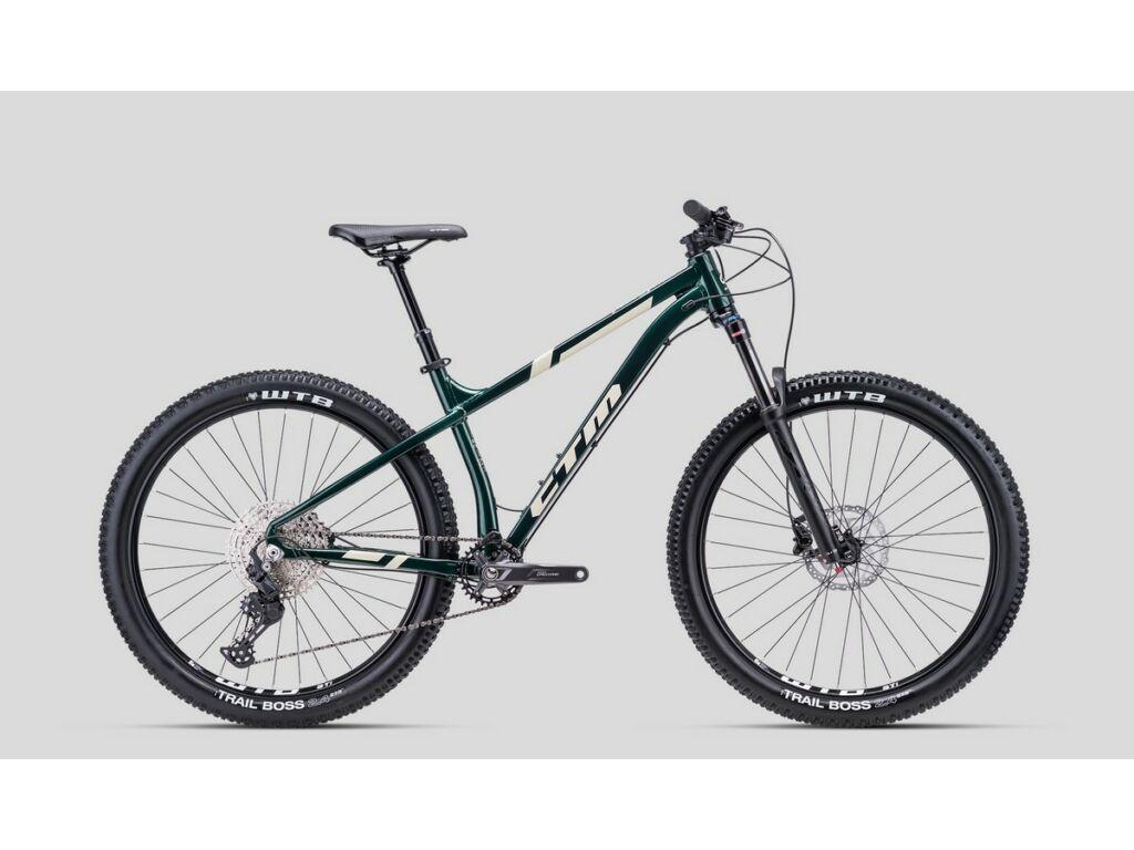 """CTM Zephyr Xpert 27.5"""" MTB hardtail kerékpár, smaragdzöld"""