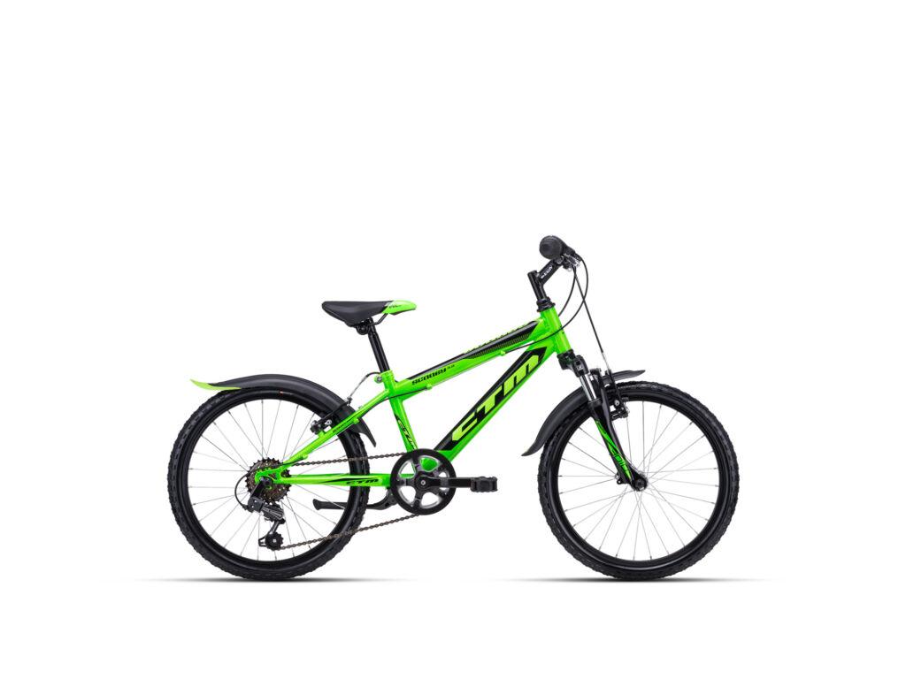 """CTM SCOOBY 3.0 11"""" fiú gyermekkerékpár, zöld / fekete"""