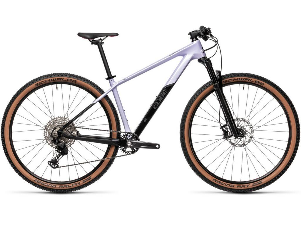 Cube Access WS C:62 Pro 2021 női MTB kerékpár, violetwhite'n' carbon